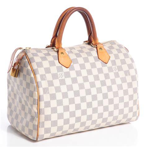 Louis Vuitton Speedy Bandou Damier Sz 25cm louis vuitton damier azur speedy 30 75432