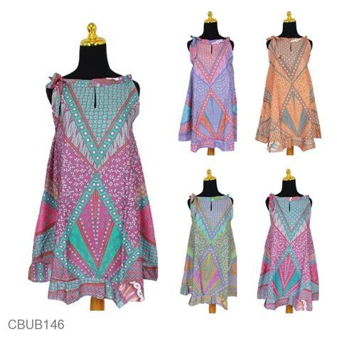 Dress Batik Cantik Mihika Sinaran dress batik cantik tali motif sinaran dress murah