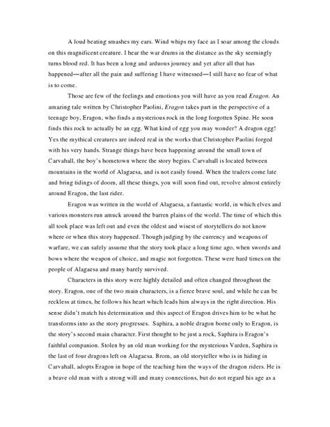 eragon book report eragon book reports