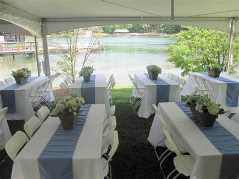 Country Wedding Centerpiece Ideas On Rectangular Table Rectangular Tables At Wedding Reception