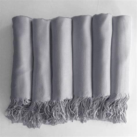 Pasmina Silver Foam 3 pashmina shawl in silver grey bridesmaid gift wedding favor monogrammable 2398092 weddbook
