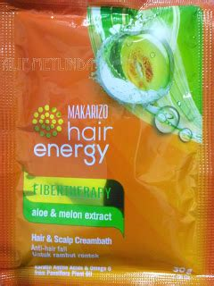 Sachet Fibertherapy Makarizo Hair Energy Creambath Scalp S 1 alif meylinda review makarizo hair energy fibertherapy hair scalp creambath aloe melon extract