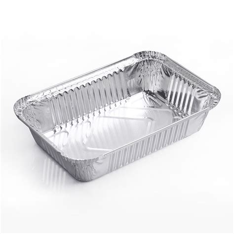 Aluminum Foil 10pcs 830ml aluminum foil trays pans food containers plate
