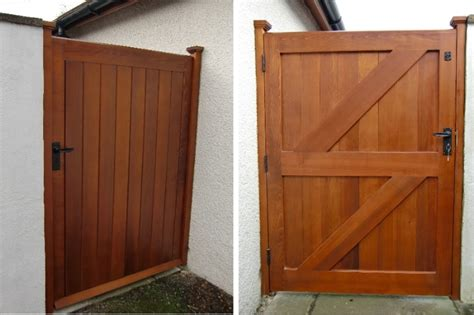 outside gates wooden gates garden gates driveways gates built in yorksfine wood designs ltd
