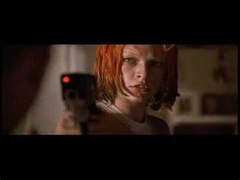 fifth element short clip dallas & leeloo first kiss
