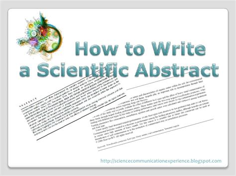 how do i write an abstract for a research paper how to write a scientific abstract