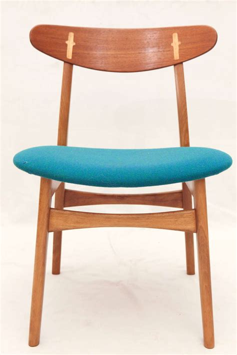 Hans Wegner Dining Chairs Set Of 8 Hans Wegner Ch 30 Dining Chairs For Sale At 1stdibs