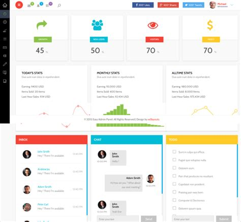 html templates for admin panel free download 25 admin cms themes templates free premium templates