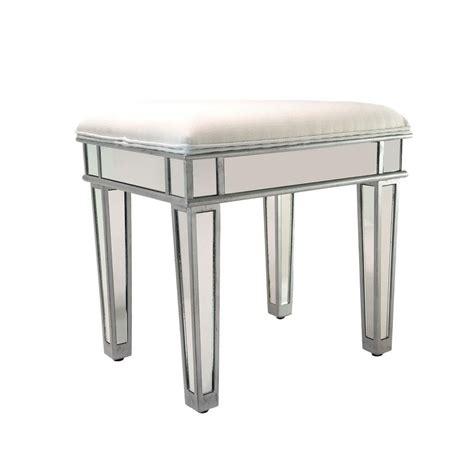 vanity benches and stools impressions vanity co ella luxe mirrored vanity stool