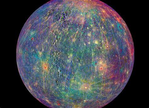 imagenes reales planetas nasa revela impactantes fotos del planeta mercurio