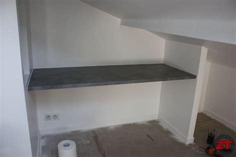comment poser un plan de travail dans une cuisine tuto poser un plan de travail pour cr 233 er un bureau