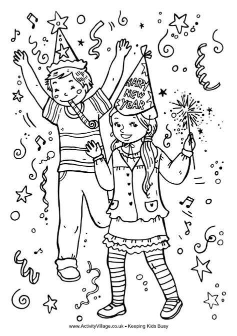 christian coloring pages for new years kids celebrate new year coloring page school holiday