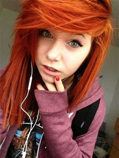 best haircut for gingers 10 pictures of emo hairstyles hairstyles haircuts