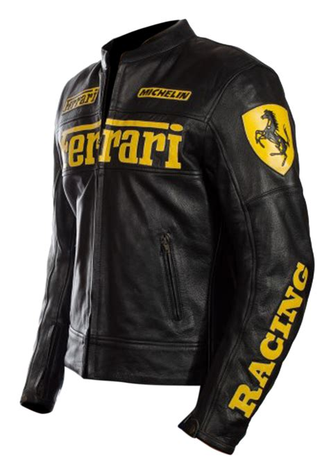 ferrari jacket ferrari black leather jacket versatile leather