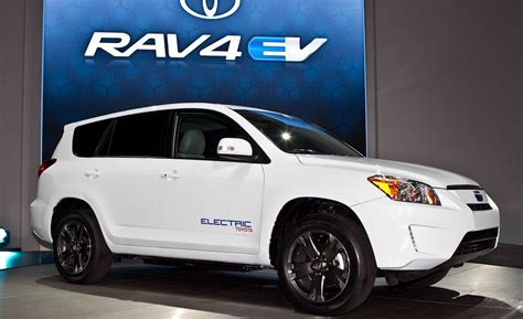 Toyota Electric Toyota Confirms Electric Rav4 Will Be Sold To General