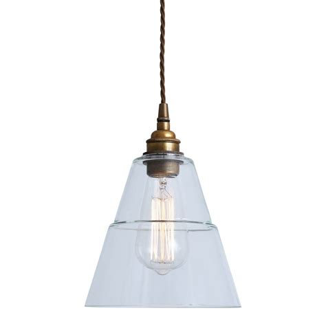 Clear Glass Pendant Lighting Lyx Clear Glass Pendant Light Mullan Lighting