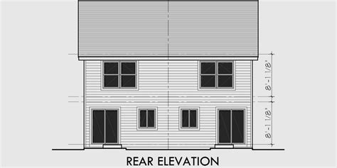 narrow lot duplex house plans 16 ft wide row house plans narrow lot duplex house plans 16 ft wide row house plans