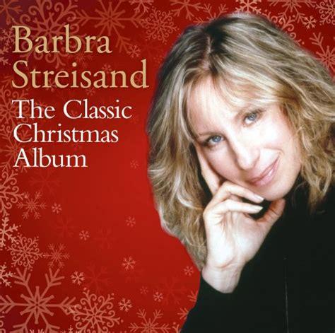 barbra streisand xmas album nu holiday muzik blige braxton clarkston streisand