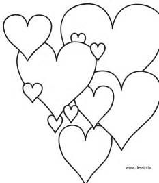 Coloriage Coeur D Amour Dessin A Imprimer L L L