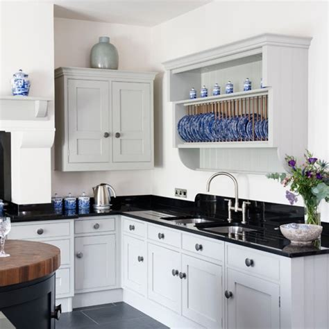 white country kitchen ideas black white and blue country kitchen black and white kitchens 10 of the best housetohome