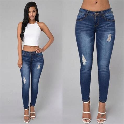 jean styles and cuts for plus sizes plus size women clothing 2016 hot sale casual women ripped