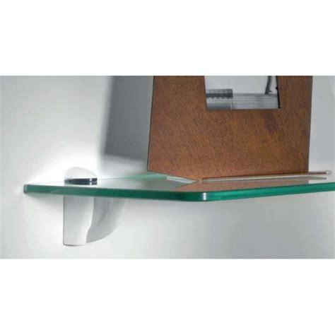 supporti per mensole di vetro coppia reggimensole per vetro e cristallo
