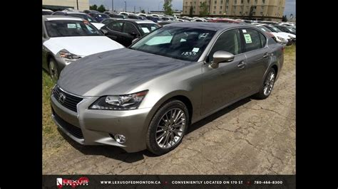 lexus atomic silver 2015 atomic silver lexus gs 350 awd executive package