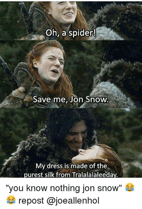You Know Nothing Meme - funny you know nothing jon snow memes of 2017 on sizzle