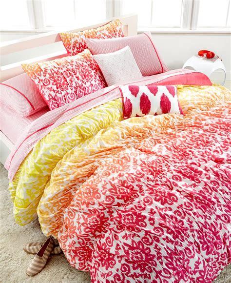 macys teen bedding seventeen deliah ikat 2 piece twin comforter set kids