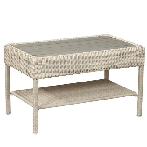 White Outdoor Coffee Table by Hton Bay Edington 40 In Patio Coffee Table 131 012 40bst The Home Depot
