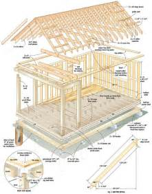 simple cabin plans cool cabin plans