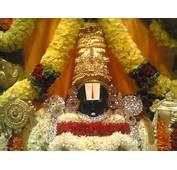 Tirupati Lord Balaji Original Wallpapers