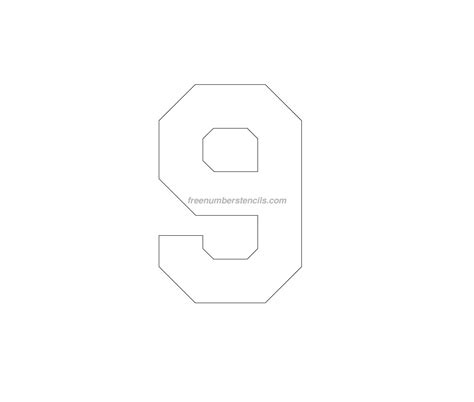 printable jersey letters image gallery stencil 9