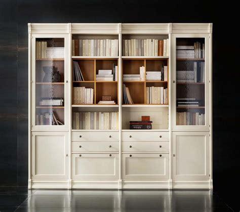librerie per salotti libreria componibile laccata in ciliegio per salotti