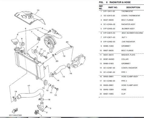 Kipas Pompa Air Radiator Vixion diagram listrik vixion choice image how to guide and refrence