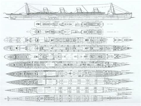 titanic floor plan rms titanic deck plans the wreck of rms titanic decks on