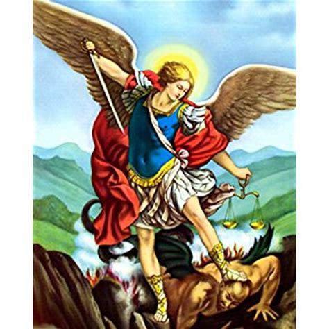 Amazon Com Home Decor amazon com saint michael the archangel angel san miguel
