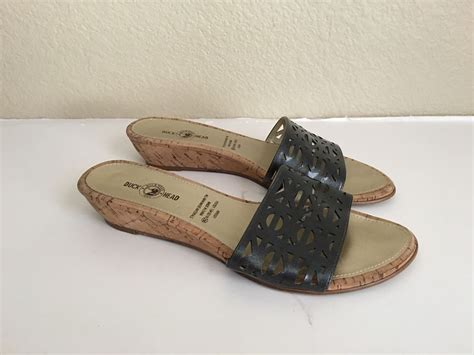 duck sandals duck krissy slides sandals shoes 7 5 7 1 2 ebay