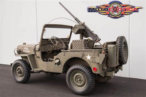 Jeep Army 1952 Jeep Na Prodej