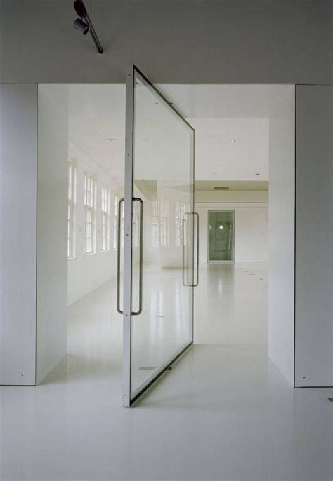 Glass Pivot Door Modern Living Pinterest Glass Pivot Door