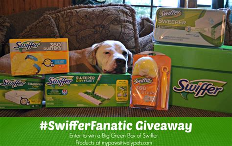 Swiffer Giveaway - pet grooming goals and cleanup tips for the new year pawsitively pets