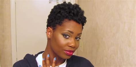 short natural hairstyles with rod curls heatless rod set tapered natural hair