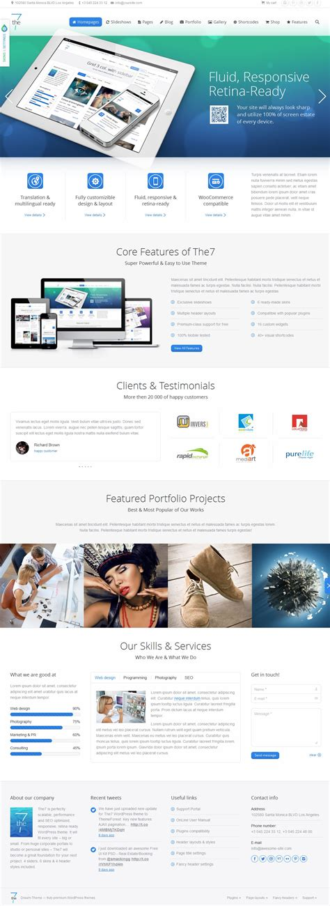 theme wordpress dante 20 premium multipurpose wordpress themes