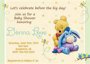 winnie the pooh birthday invitations templates winnie the pooh baby shower invitations templates