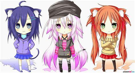 cute anime chibi girl with red hair 42 h 236 nh nền anime chibi dễ thương v 224 đ 225 ng y 234 u qu 225 trời