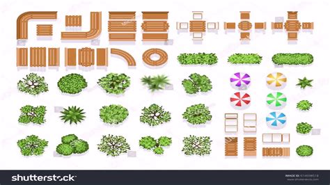 Landscape Design Drawing Symbols