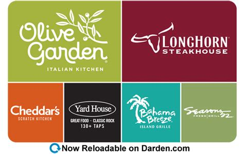Which Restaurants Accept Restaurant Com Gift Cards - darden restaurants gift cards darden restaurants
