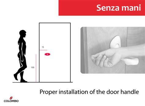 Distance From Floor To Door Knob - senza designboom