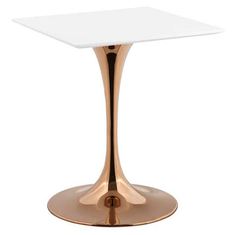 odyssey dining table odyssey 24 quot square modern gold dining table eurway
