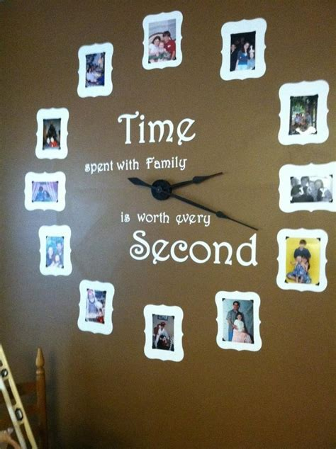diy family wall clock pictures photos and images for
